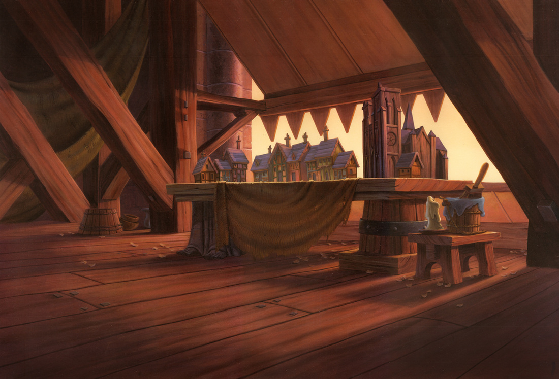 Background Matte Paintings The Art Of George Taylor